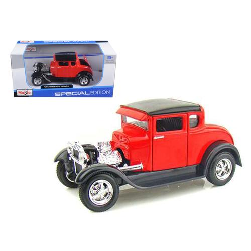 1929 Ford Model A Red 1/24 Diecast Model Car by Maisto