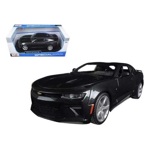 2016 Chevrolet Camaro SS Grey 1/18 Diecast Model Car by Maisto