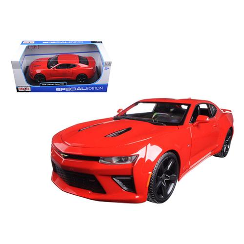 2016 Chevrolet Camaro SS Red 1/18 Diecast Model Car by Maisto