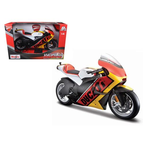 Ducati Germany Motor World Cycle Series 1/6 Motorcycle Model by Maisto