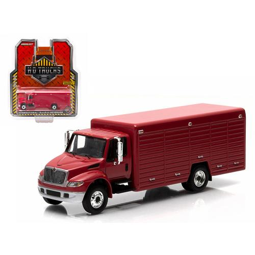 2013 International Durastar 4400 Beverage Truck Red 1/64 Diecast Model by Greenlight