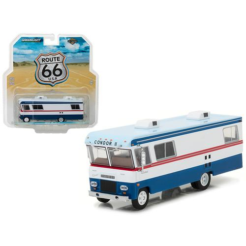1972 Condor II RV Red, White, and Blue HD Trucks Series 9 1/64 Diecast Model by Greenlight
