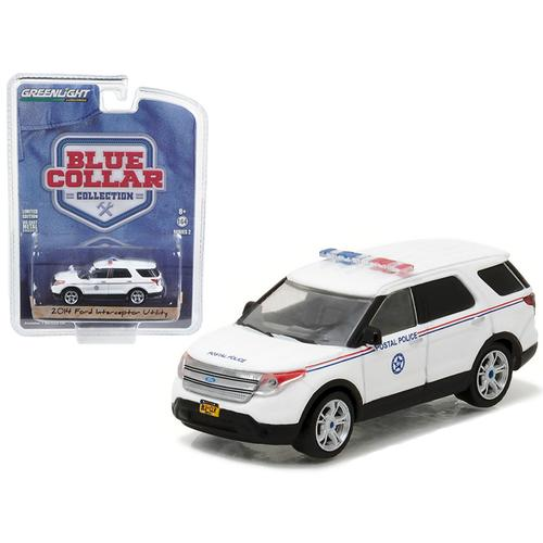 2014 Ford Explorer United States Postal Service (USPS) Postal Police 1/64 Diecast Model Car  by Greenlight