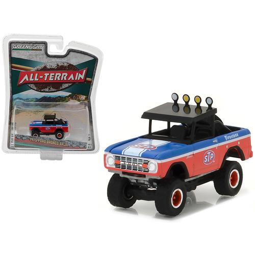 "1975 Ford Bronco Baja STP ""All Terrain"" Series 5 1/64 Diecast Model Car by Greenlight"