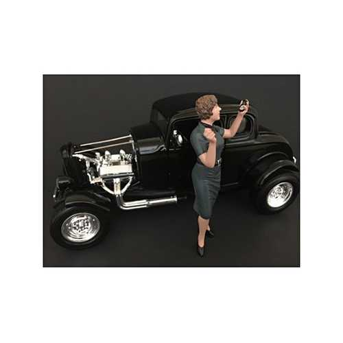 50's Style Figure IV for 1:18 Scale Models by American Diorama