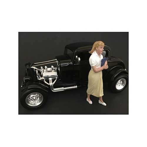 50's Style Figure VIII for 1:18 Scale Models by American Diorama