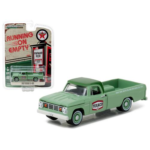 1967 Dodge D-100 Texaco Pickup Truck 1/64 Diecast Model Car by Greenlight