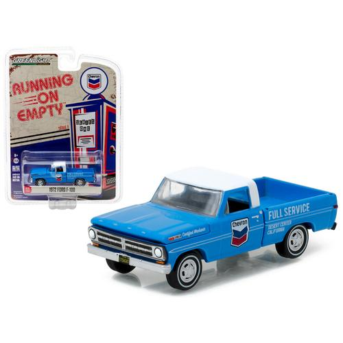 1972 Ford F-100 Chevron Pickup Truck 1/64 Diecast Model Car by Greenlight