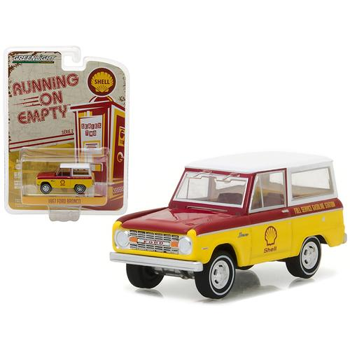 1967 Ford Bronco Shell Oil 1/64 Diecast Model Car by Greenlight