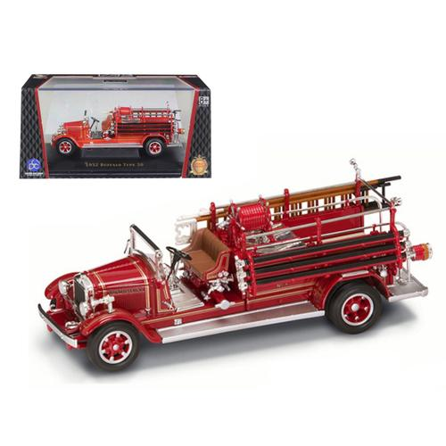 1932 Buffalo Type 50 Fire Engine Red 1/43 Diecast Car Model by Road Signature