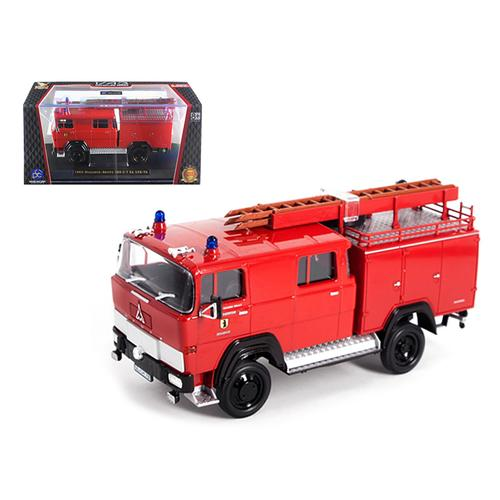 1965 Magirus Deutz 100 D 7FA LF8-TS Red Fire Engine 1/43 Diecast Model by Road Signature
