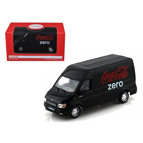 Ford Transit Coca Cola Zero 1/43 Diecast Car Model by Motorcity Classics