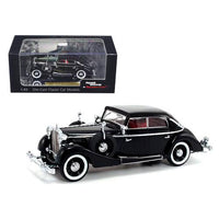 1937 Maybach SW38 Spohn 4 Doors Black Convertible 1/43 Diecast Car Model by Signature Models