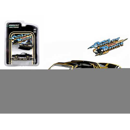 1977 Pontiac Trans Am Smokey and the Bandit (1977) 1/64 Diecast Model Car by Greenlight