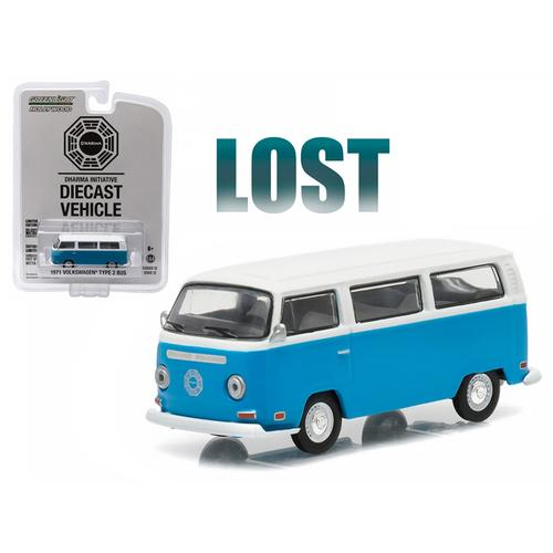 "1971 Volkswagen Type 2 Bus (T2B) ""Lost"" TV Series (2004-2010) 1/64 Diecast Model by Greenlight"