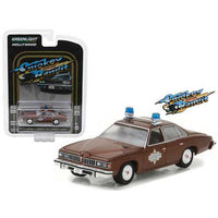 Sheriff Buford T. Justice's 1977 Pontiac Lemans Smokey and the Bandit Movie (1977) Hollywood Series 18 1/64 Diecast Model Car by Greenlight