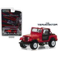 1983 Jeep CJ-7 Renegade Red (Sarah Connor's)