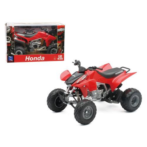 2009 Honda TRX 450R Red ATV Motorcycle 1/12 Diecast Model by New Ray