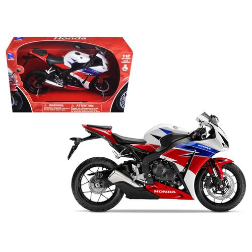 2016 Honda CBR100RR Red/White/Blue/Black Motorcycle Model 1/12 by New Ray