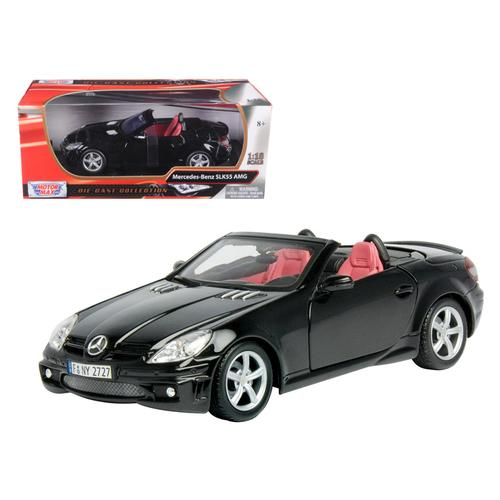 2005 Mercedes SLK55 AMG Black 1/18 Diecast Model Car by Motormax