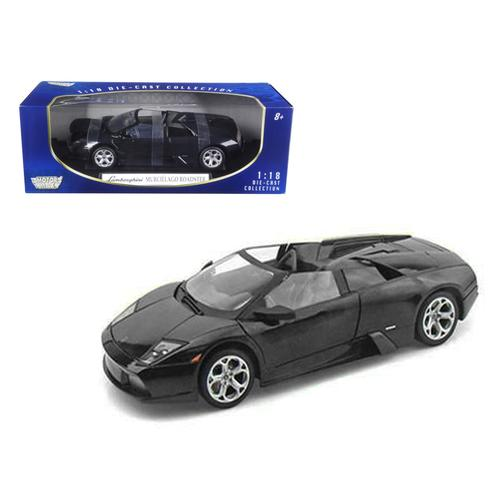 Lamborghini Murcielago Roadster Black 1/18 Diecast Model Car by Motormax