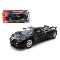 Pagani Zonda C12 Black 1/24 Diecast Car Model by Motormax