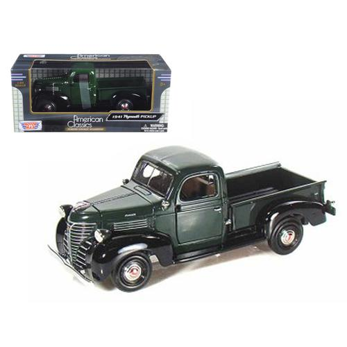 1941 Plymouth Pickup Green 1/24 Diecast Model Car by Motormax