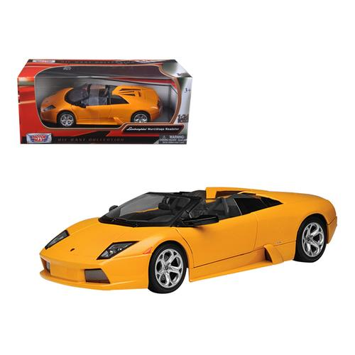 Lamborghini Murcielago Roadster Orange 1/24 Diecast Model Car by Motormax