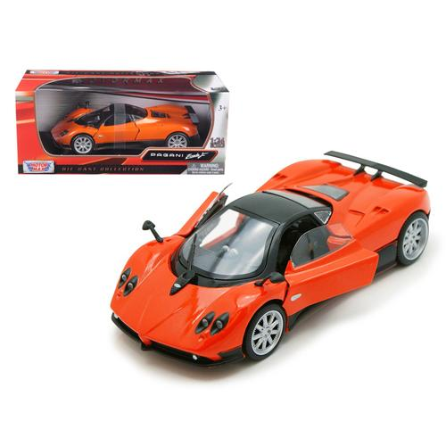 Pagani Zonda F Orange 1/24 Diecast Car Model by Motormax