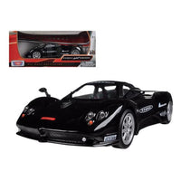 Pagani Zonda F Nurburgring Black 1/24 Diecast Car Model by Motormax