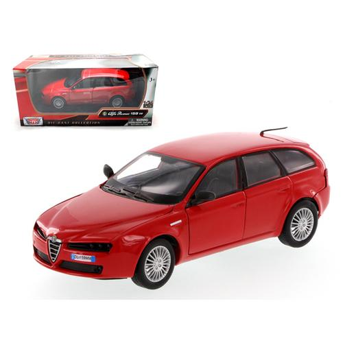 Alfa Romeo 159 SW Red 1/24 Diecast Car Model by Motormax
