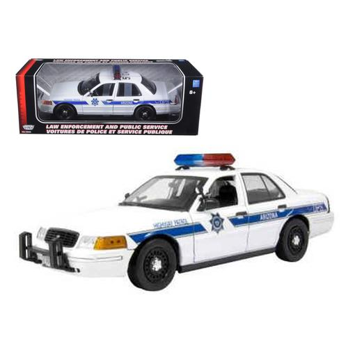 Ford Crown Victoria Arizona Highway Patrol Car 1/18 Diecast Model Car by Motormax