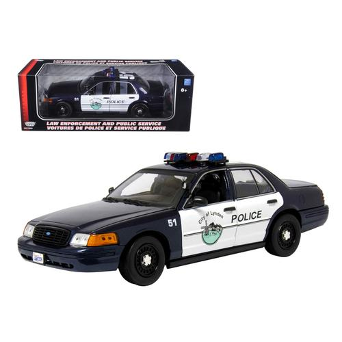 Ford Crown Victoria Lynden WA 1/18 Diecast Model Car by Motormax