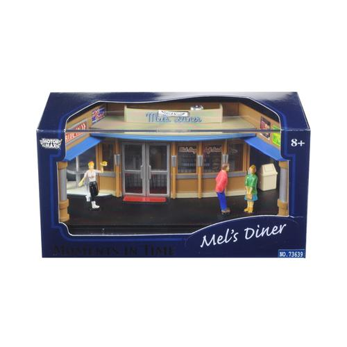 Mel's Diner Diorama Put Your Own Car Inside 1/64 by Motormax