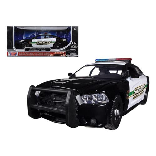 2014 Dodge Charger Pursuit Socorro County Sheriff Police 1/24 Diecast Car Model by Motormax