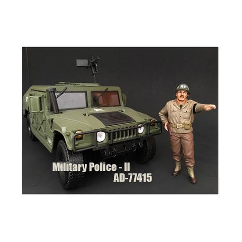 WWII Military Police Figure II For 1:18 Scale Models by American Diorama