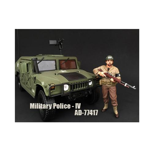 WWII Military Police Figure IV For 1:18 Scale Models by American Diorama