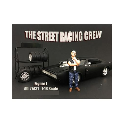 The Street Racing Crew Figure I For 1:18 Scale Models by American Diorama