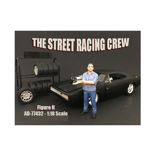 The Street Racing Crew Figure II For 1:18 Scale Models by American Diorama