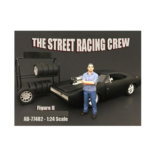 The Street Racing Crew Figure II For 1:24 Scale Models by American Diorama
