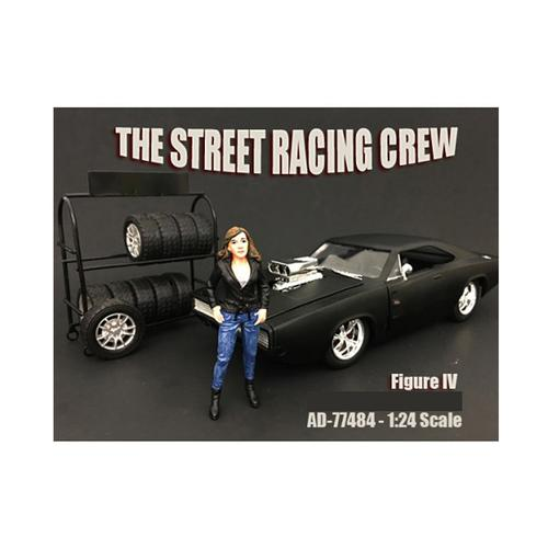 The Street Racing Crew Figure IV For 1:24 Scale Models by American Diorama