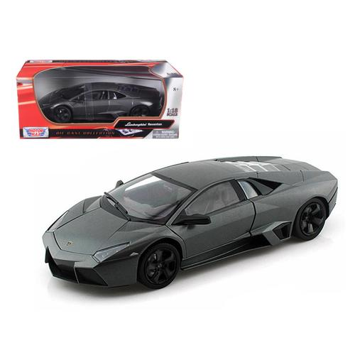 Lamborghini Reventon Grey 1/18 Diecast Car Model by Motormax
