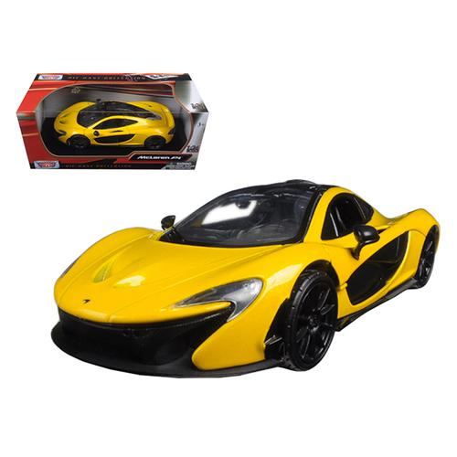 McLaren P1 Yellow 1/24 Diecast Model Car by Motormax