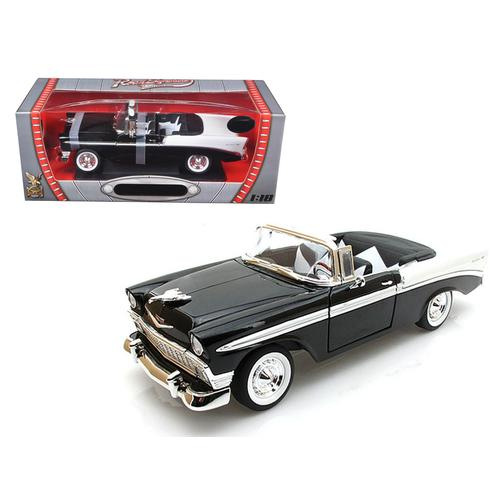 1956 Chevrolet Bel Air Black Limited Edition to 600pc 1/18 by Road Signature