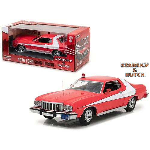 "1976 Ford Gran Torino from ""Starsky and Hutch"" 1975-1979 TV Series 1/24 Diecast Model Car by Greenlight"