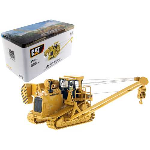 CAT Caterpillar 587T Pipelayer with Operator 1/50 Diecast Model by Diecast Masters