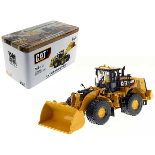 CAT Caterpillar 982M Wheel Loader with Operator High Line Series 1/50 Diecast Model by Diecast Masters