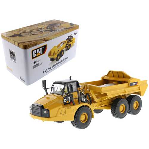 CAT Caterpillar 740B EJ Articulated Truck with Operator High Line Series 1/50 Diecast Model by Diecast Masters