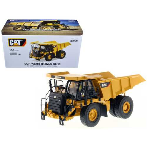 CAT Caterpillar 775G Off Highway Truck 1/50 Diecast Model by Diecast Masters