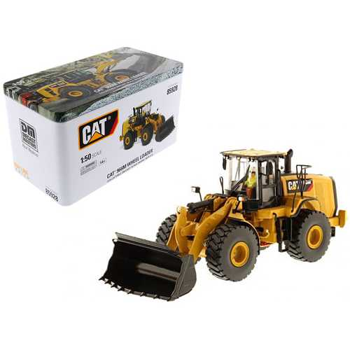 CAT Caterpillar 966M Wheel Loader with Operator High Line Series 1/50 Diecast Model  by Diecast Masters